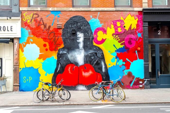 Joey Ramone - East Village