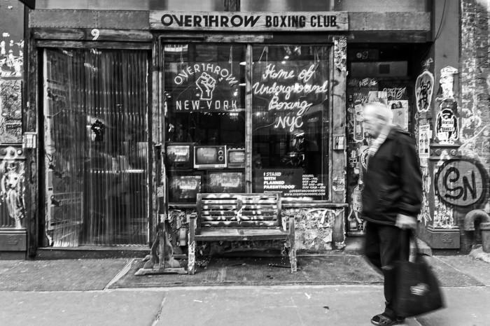 overthrow New York