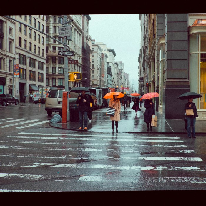 rainy Manhattan