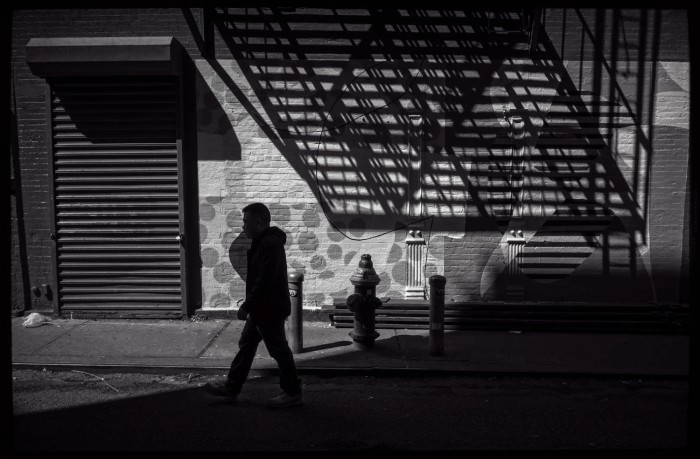 shadows in Chinatown
