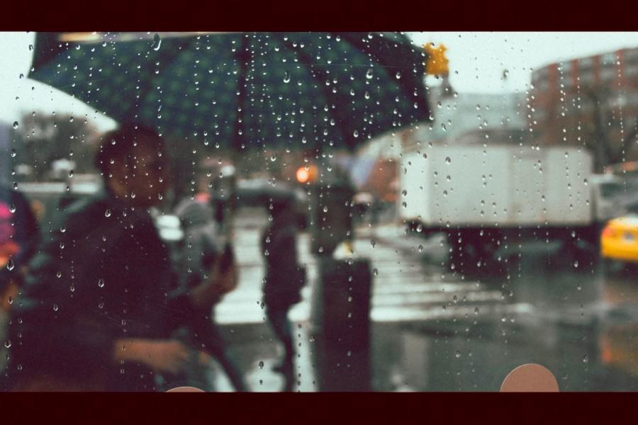 Union Square rainy day
