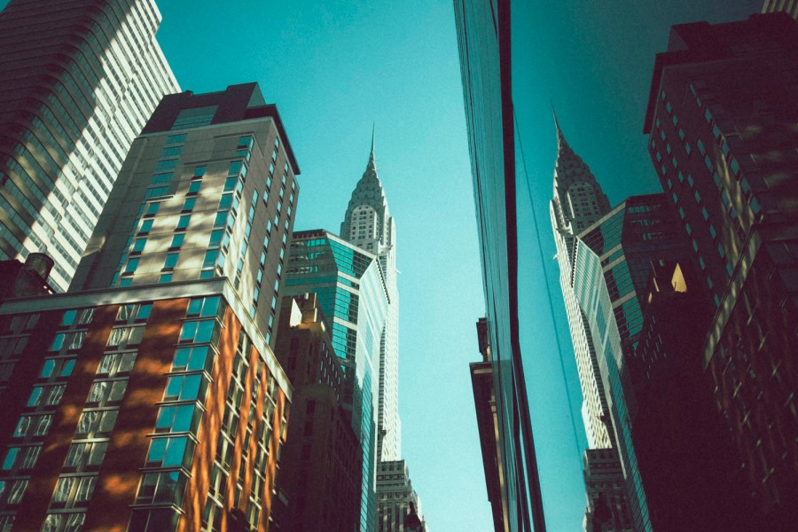 Chrysler Building times two