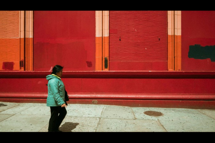 Red Wall in East Harlem_