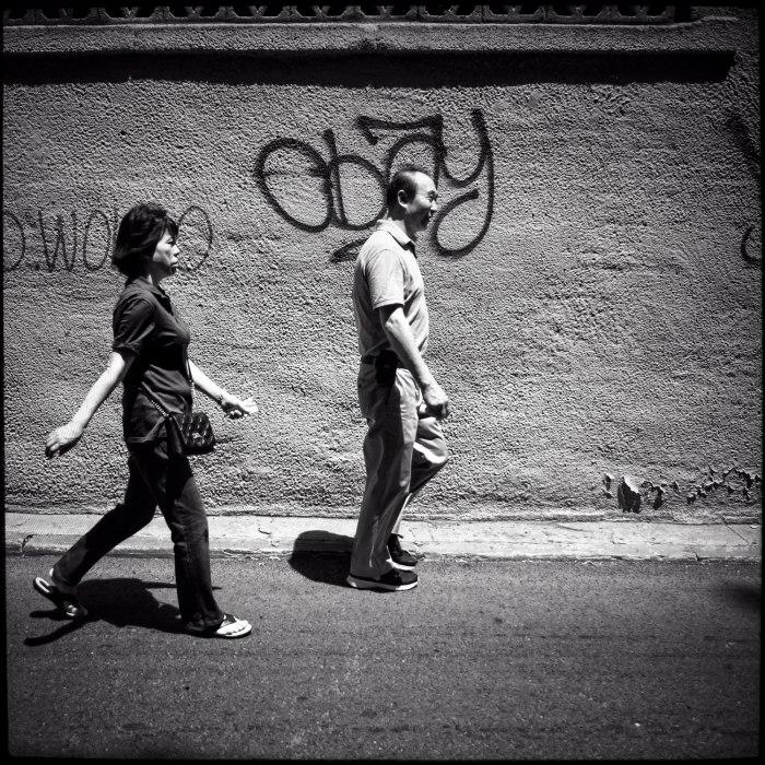 Chinatown walkers