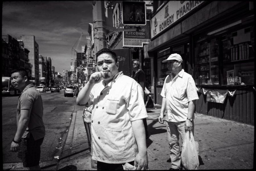 on Bowery