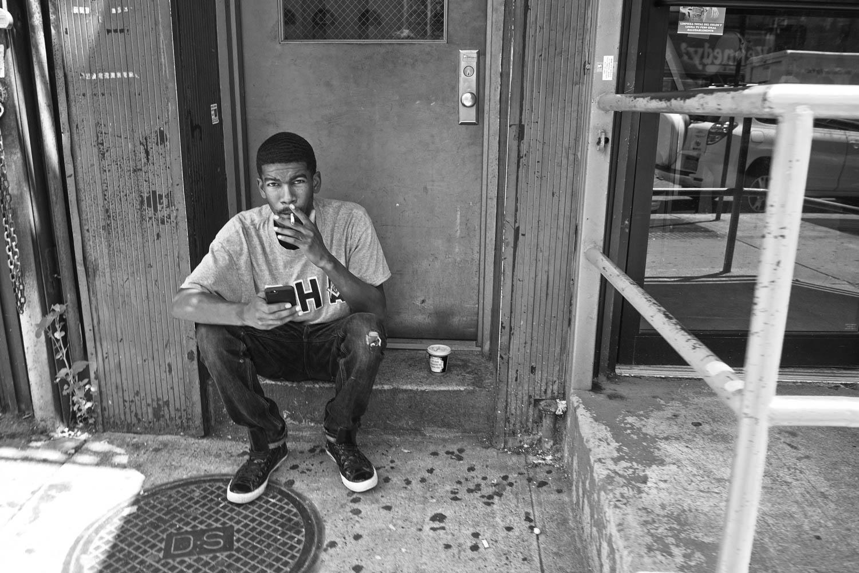 Chilling in East Harlem