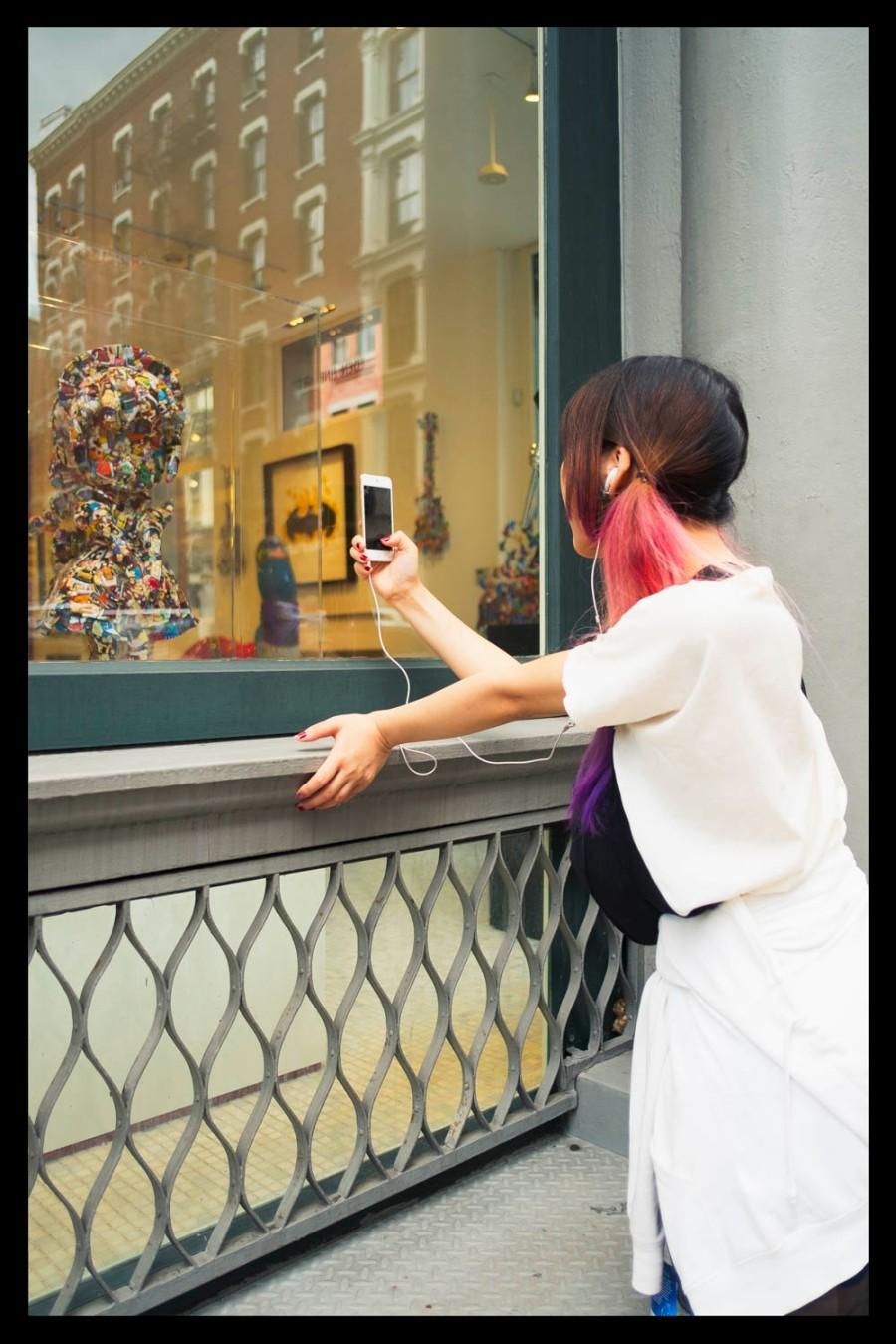 Selfie in Soho