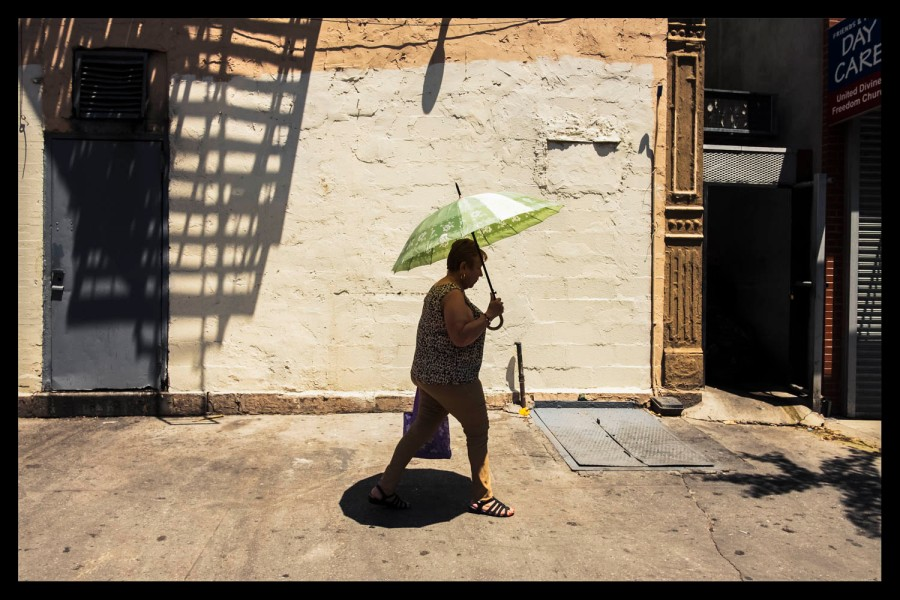Umbrella in the Sun