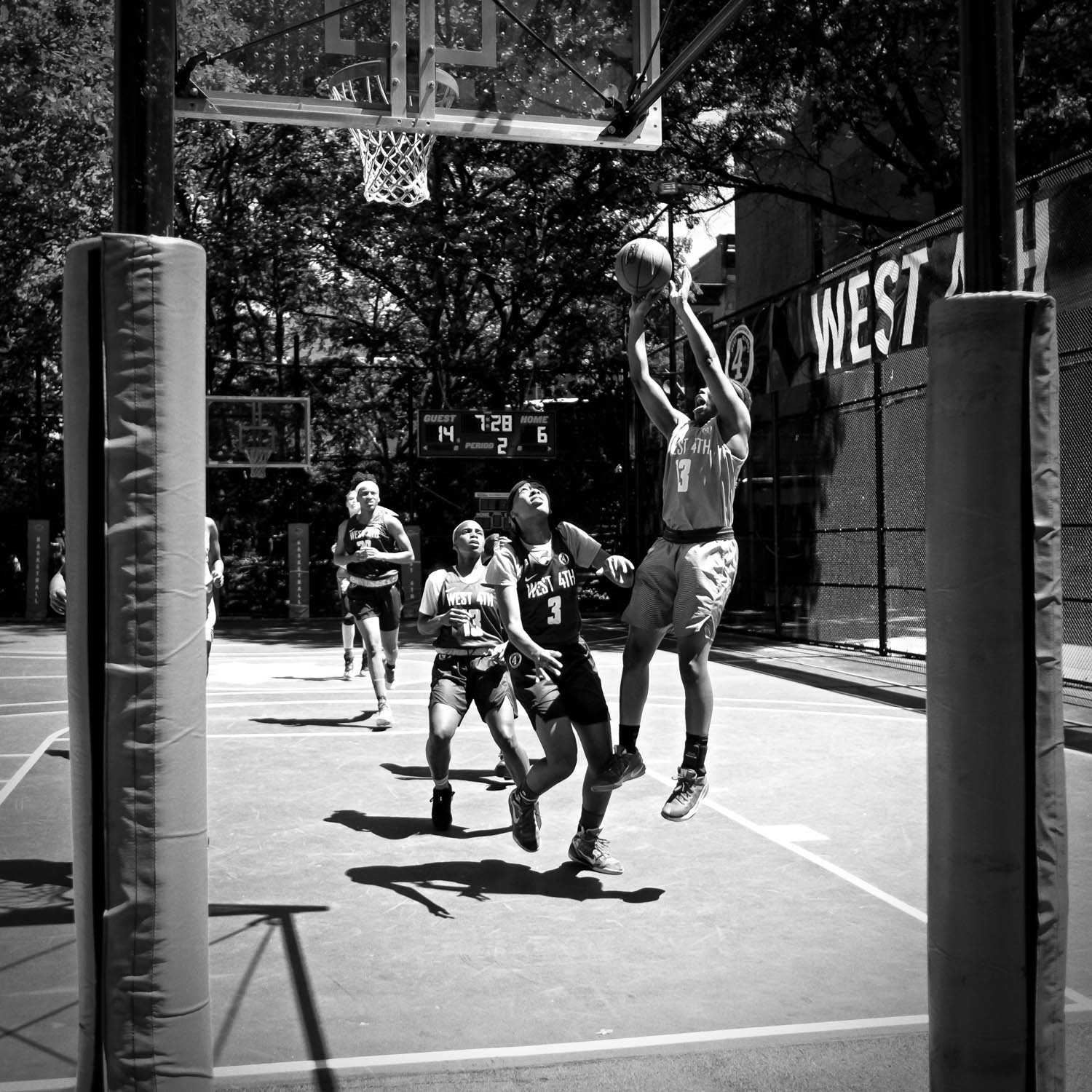 West 4th Street Basketball