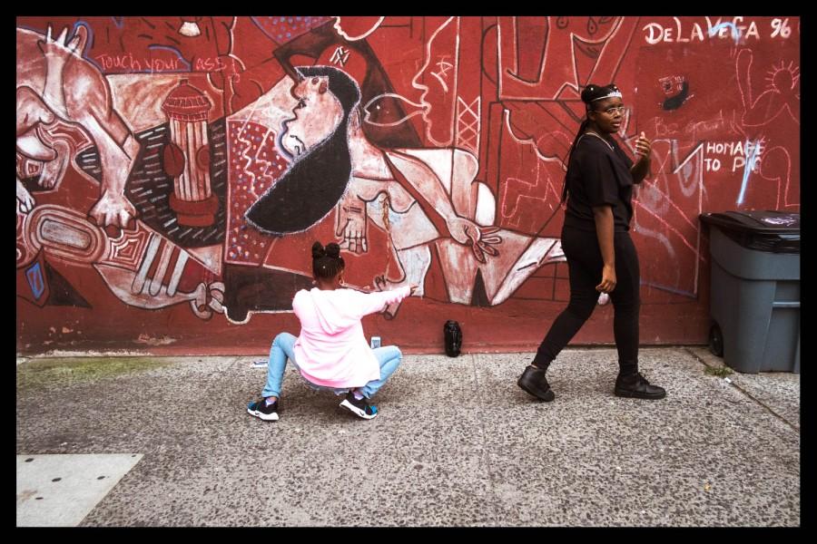 Dancing with Picasso in El Barrio