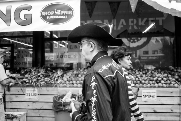 Cowboy in El Barrio