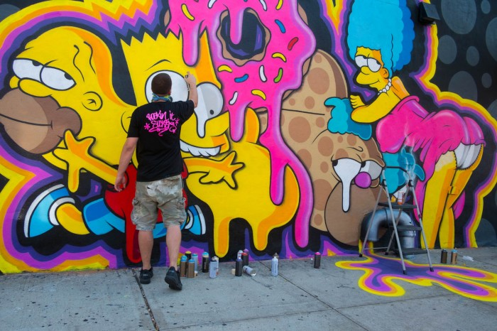 The Simpsons in Bushwick
