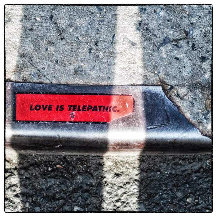 love is telepathic
