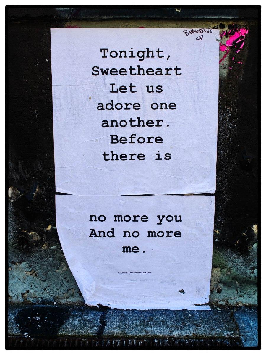 tonight sweetheart