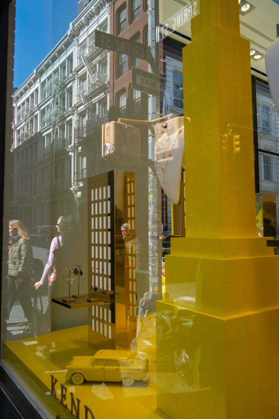Soho Yellow Reflections