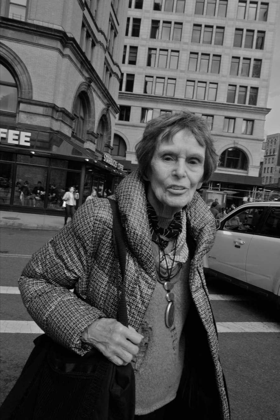 East Village Woman-Exposure