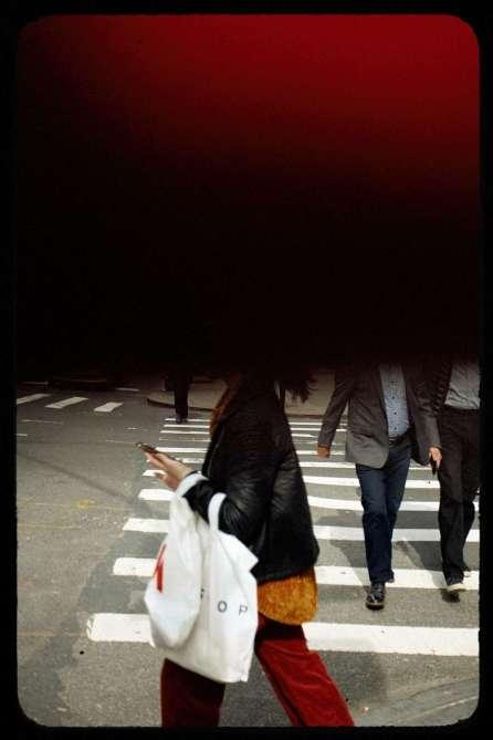 Red & Orange Crosswalk