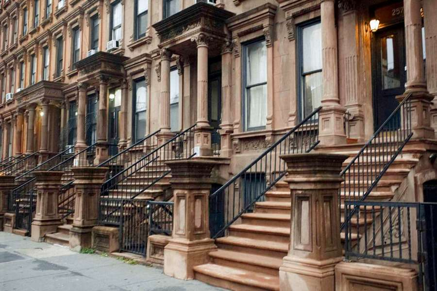 Charming Row Houses in Harlem