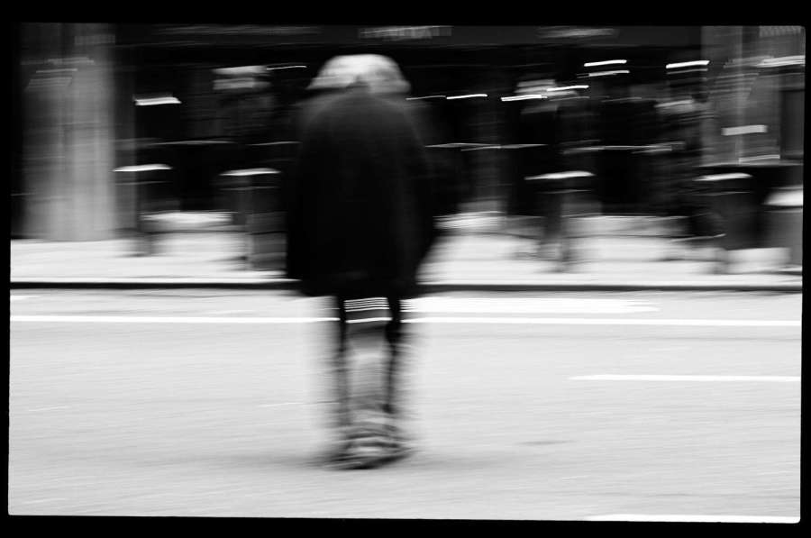 Motion Blur Street Photography