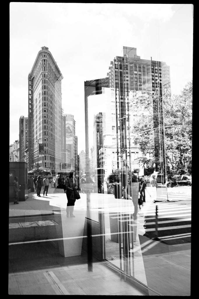 Double Exposure with the Flatiron