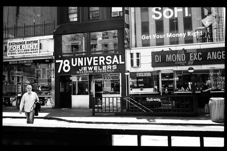 Diamond District New York City
