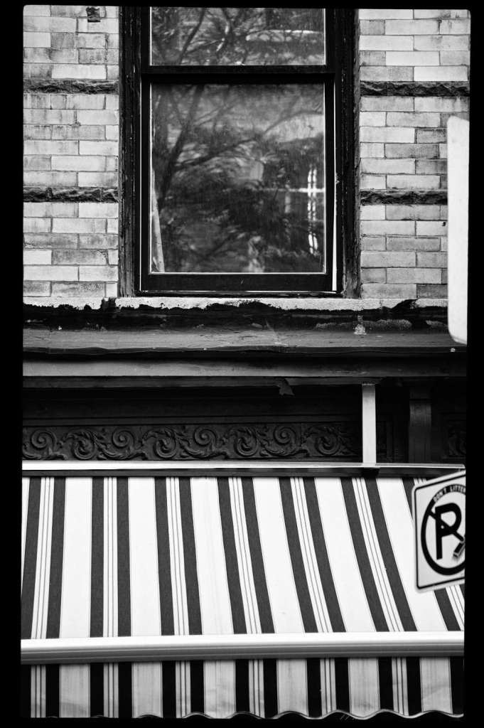 Striped Awning in Greenwich Village