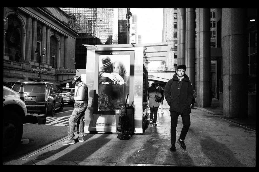 Midtown Manhattan Monochrome Street