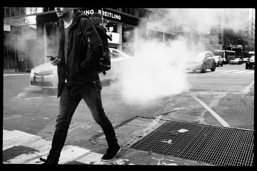 Monochrome Manhattan Street Photography