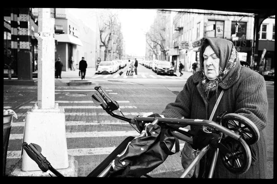 Brooklyn Monochrome Street