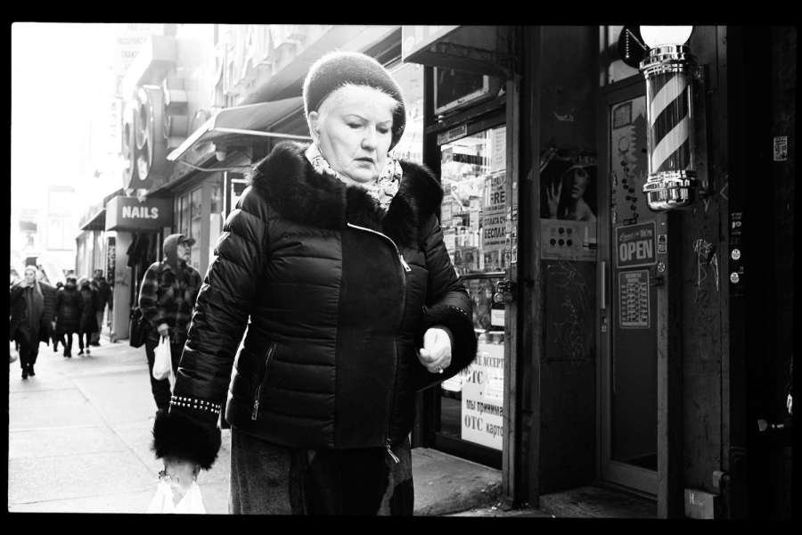 Monochrome Brooklyn Street Photography