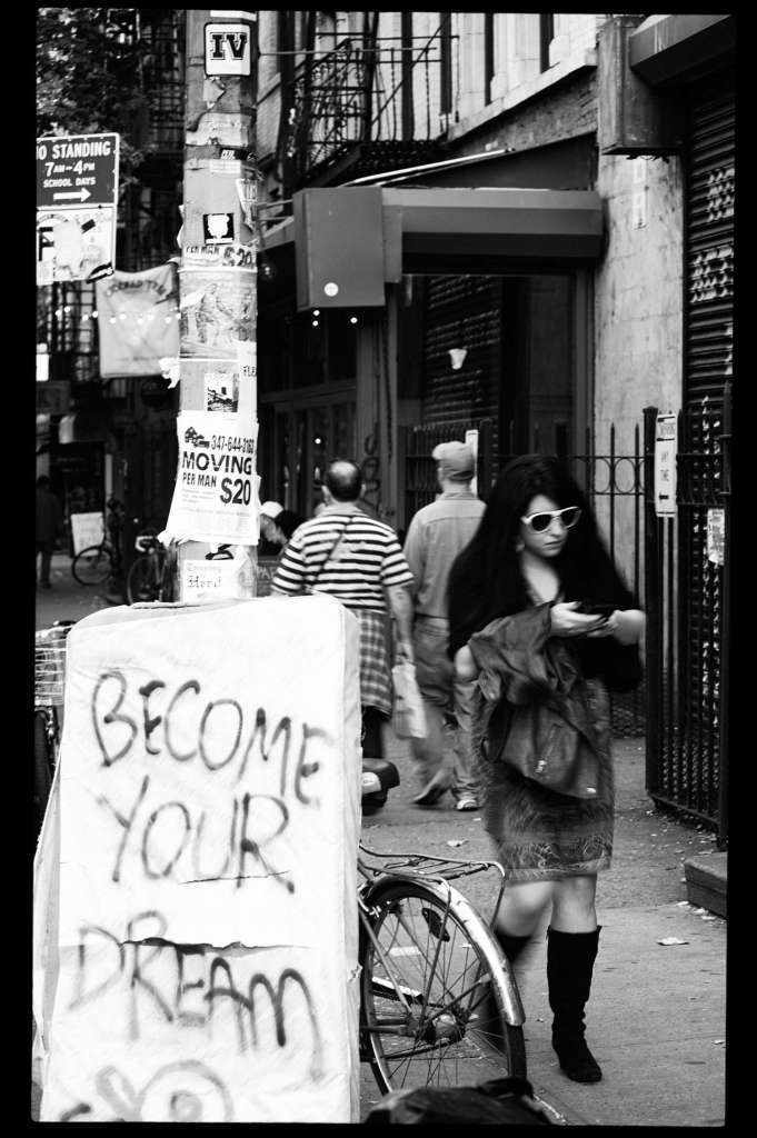 Monochrome Street Photography NYC